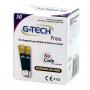 Tiras Reagentes de Teste G-Tech Free 1 caixa com 50 tiras