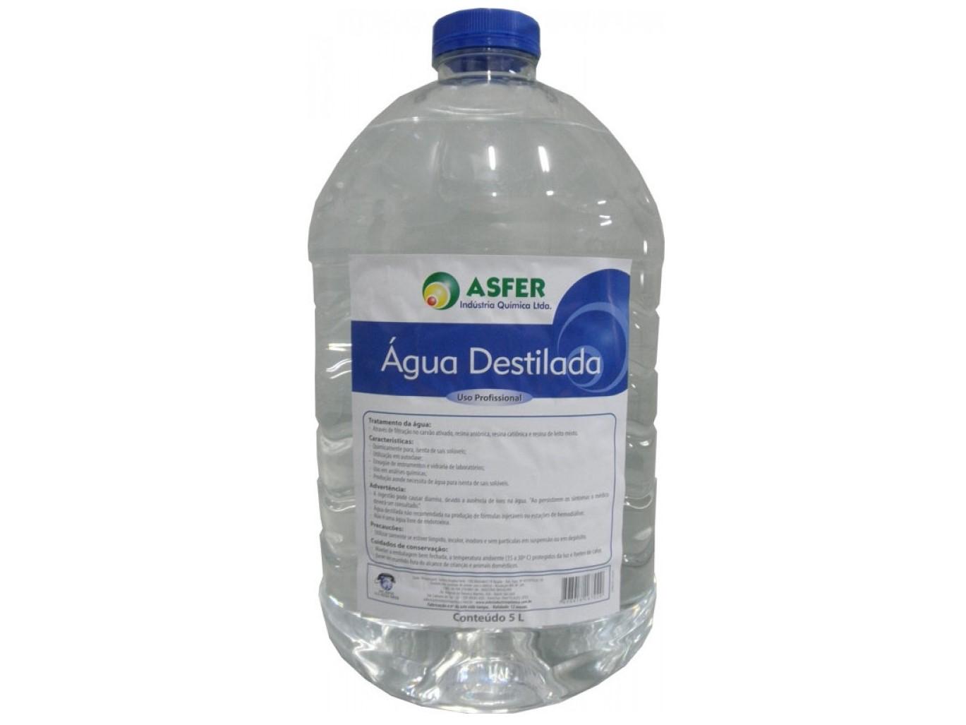 Agua Destilada 5 Litros