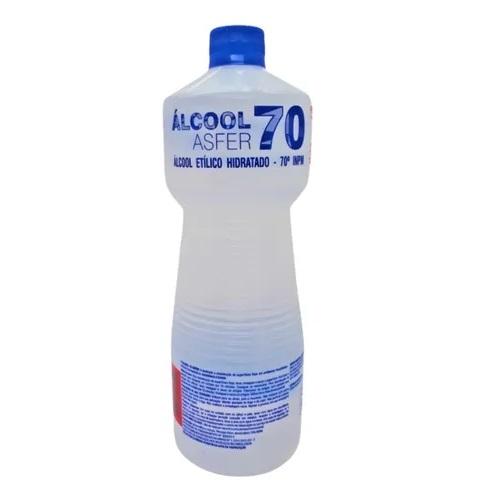Alcool 70% em Liquido Antisseptico 1 Litro