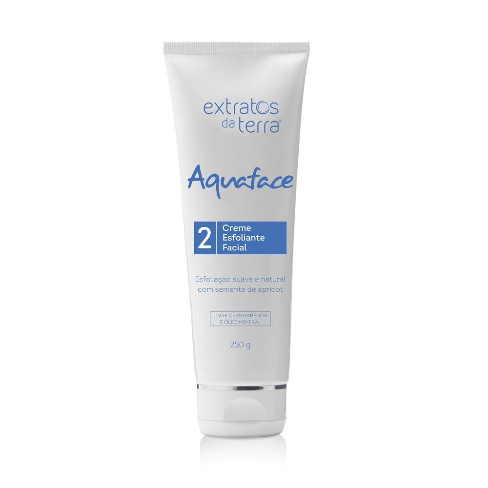 Aquaface Creme Esfoliante Facial 250g Extratos da Terra