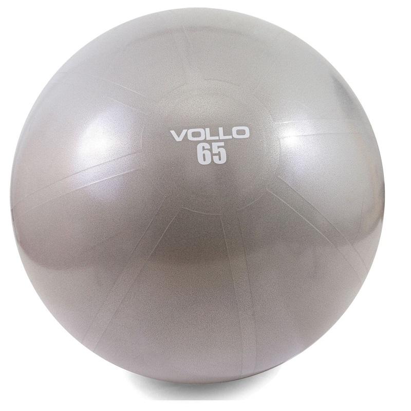 Bola de Pilates de 65cm e resistencia de 300kgs com bomba