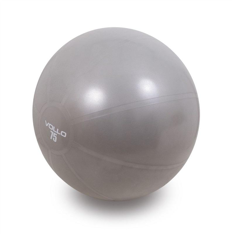 Bola de Pilates de 75cm e resistencia de 300kgs com bomba