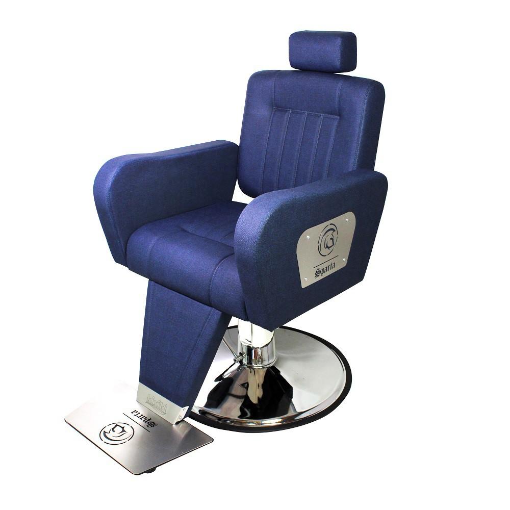 Cadeira de Barbeiro Reclinavel Sparta Kixiki