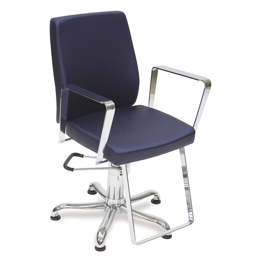Cadeira de Cabeleireiro Encosto Fixo Croma