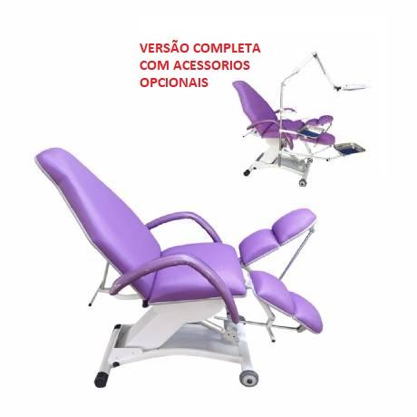 Cadeira de Podologia Altura Eletrica Casa do Esteticista 2021