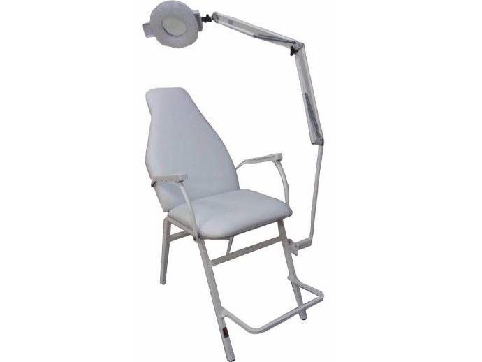Cadeira para Procedimentos Faciais, Maquiagem e Sobrancelha com Lupa KPF-2018 KIT