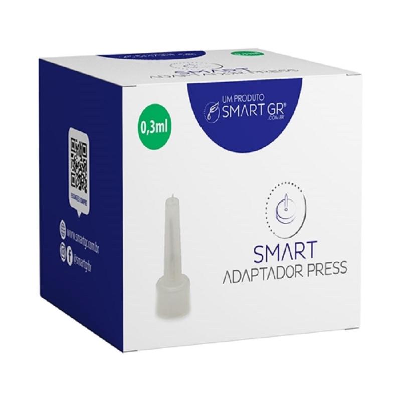 Caixa com 10 Agulhas Adaptadoras 3ml para Caneta Pressurizada