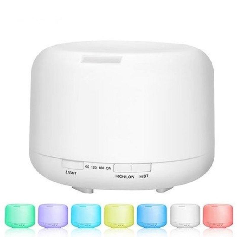 Difusor de Aromas Aromatizador Ultrassonico com LED 7 Cores e Controle