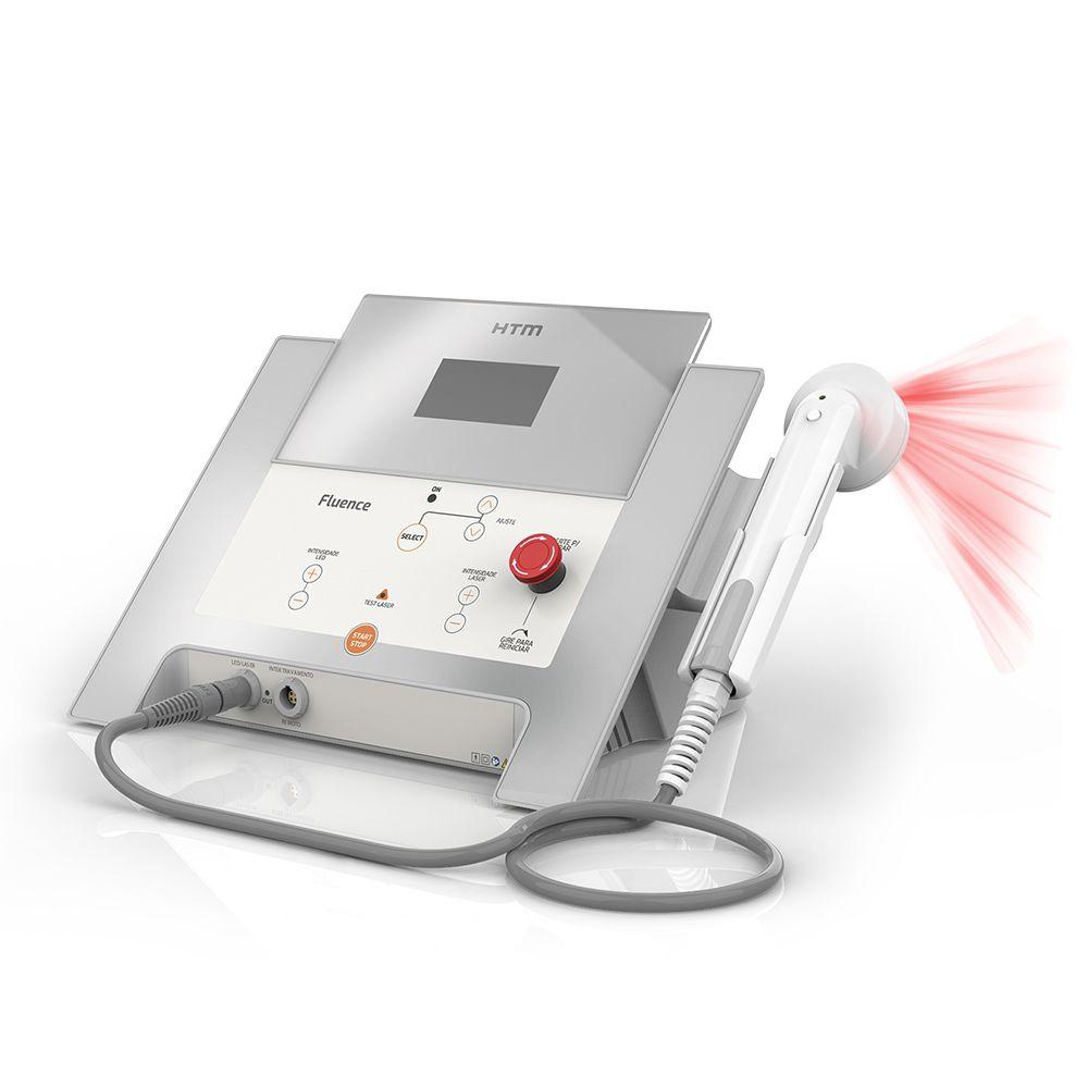 Fluence Laser e Led com Cluster Led Ambar + Laser Infra - HTM