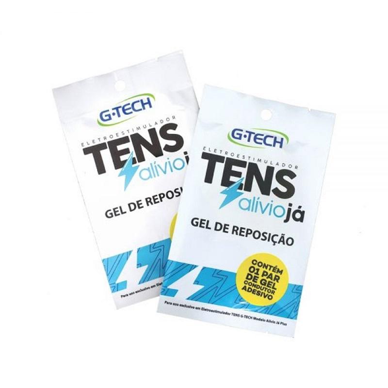 Gel de Reposicao para TENS Alivio da Dor G-TECH com 01 par