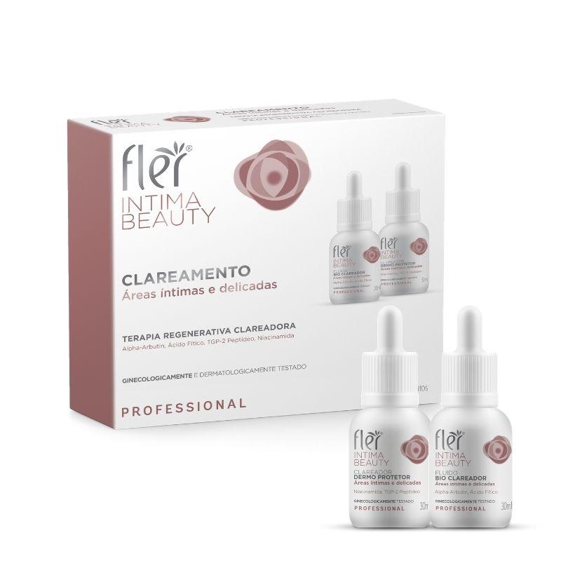 INTIMA BEAUTY Kit de Clareamento para areas intimas e delicadas Fler
