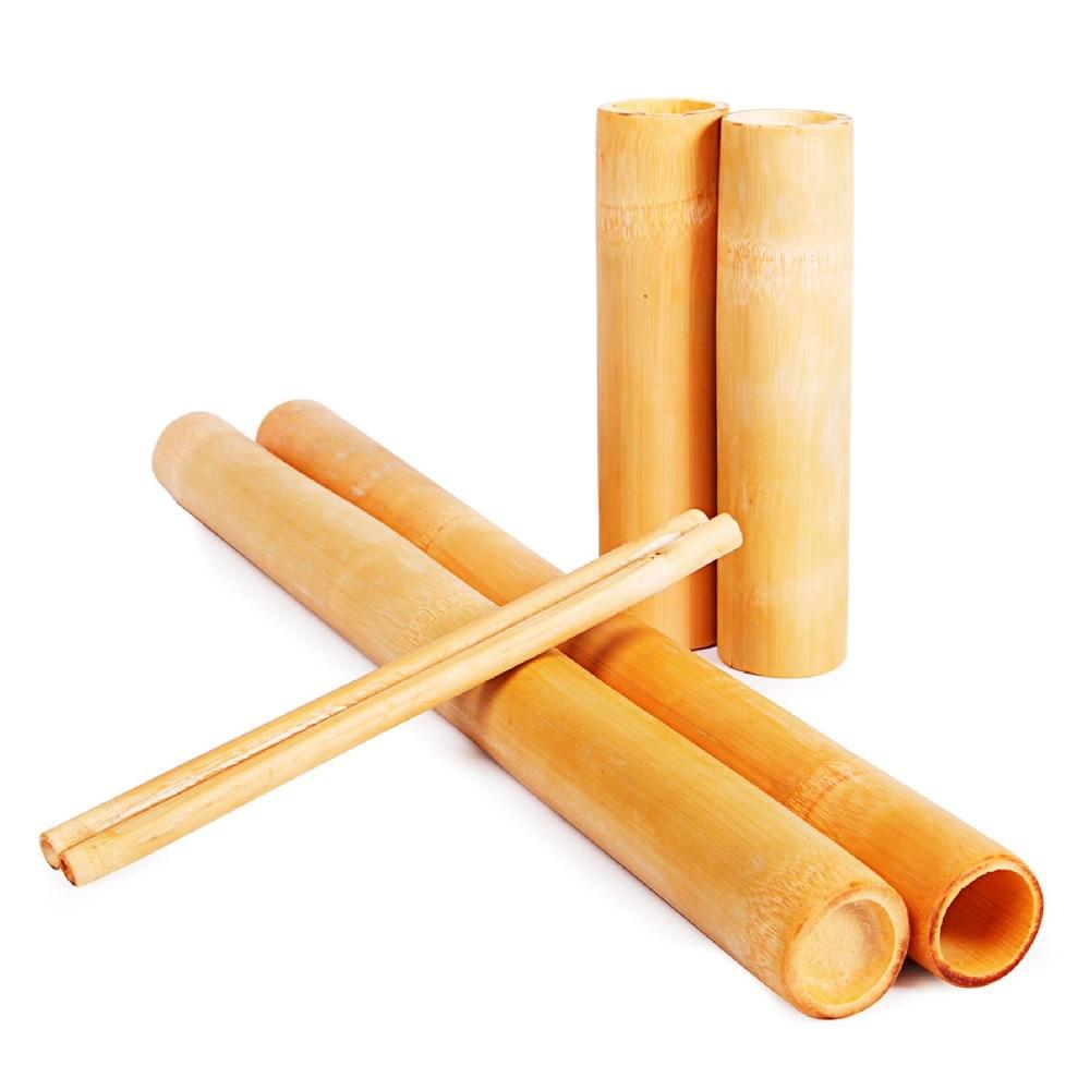 Kit Bambus 6 Pecas Lixados