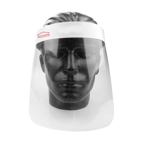 Kit Mascara de Protecao Facial Transparente Face Shield 5 unid