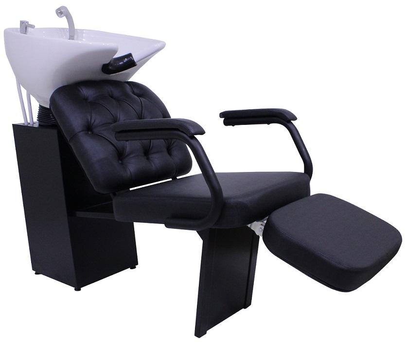 Lavatorio para Barbearia Barber Boss com Descanso de Pernas