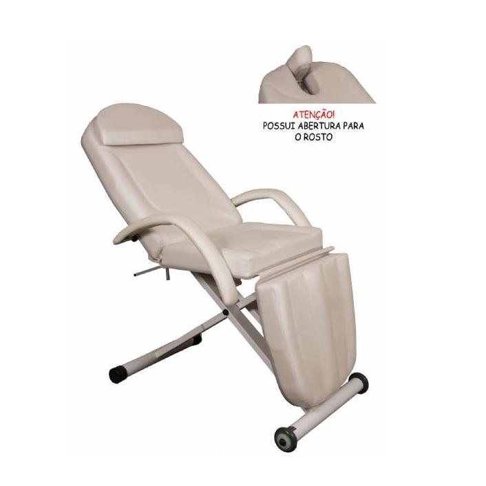 Maca para Estetica Confort PLUS com Regulagem de Altura Manual