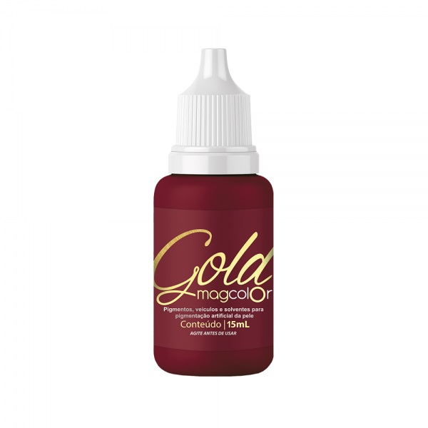 Mag Color Pigmentos Gold Bordo 5ml