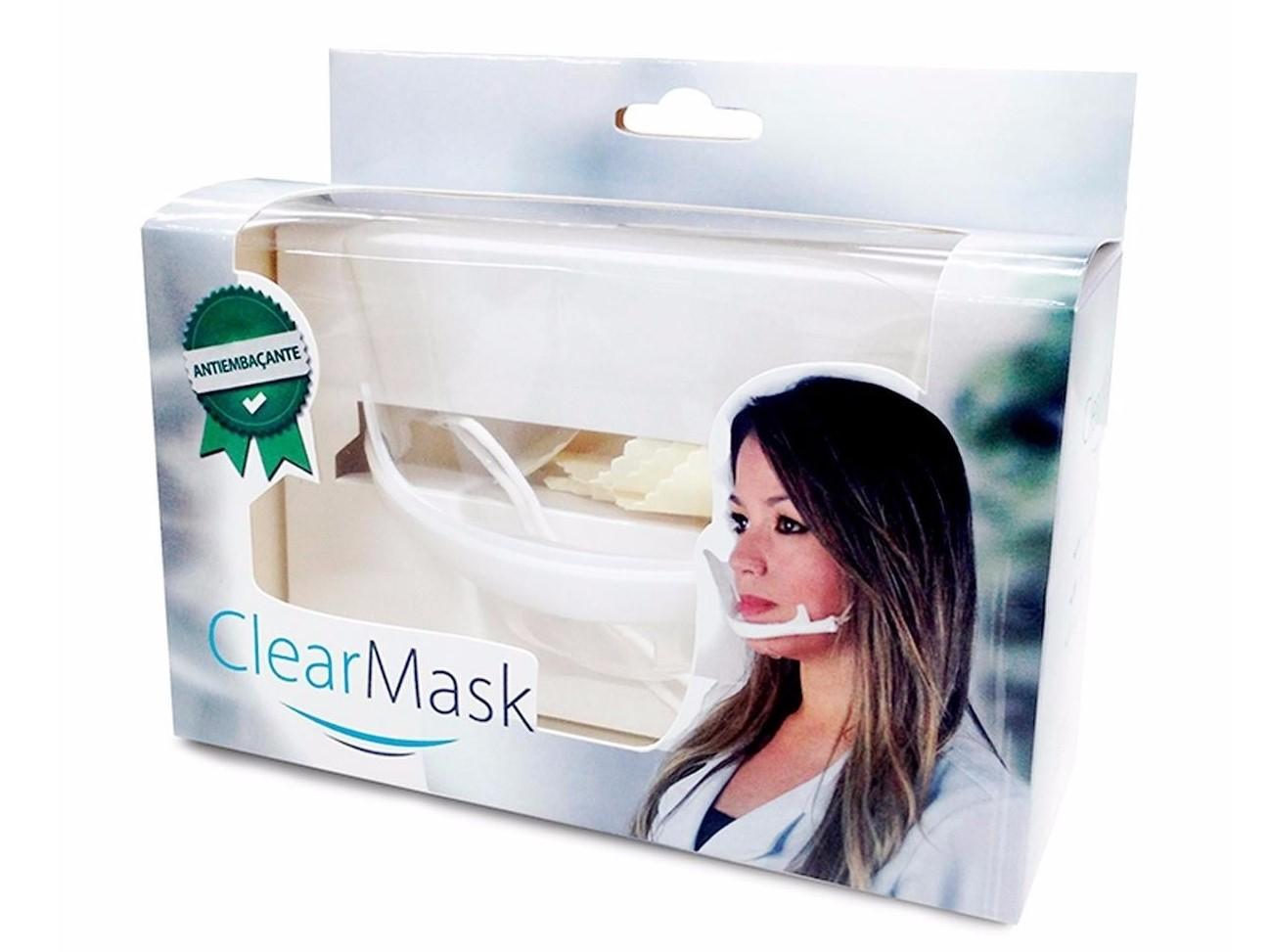 Mascara de acrilico Higienica ClearMask