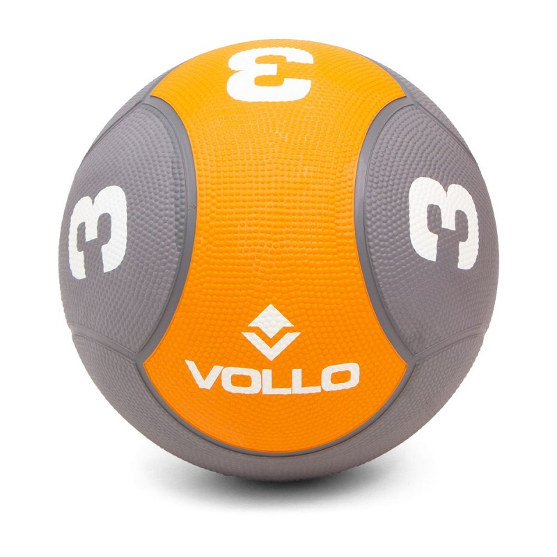Medicine Ball 3Kgs para Fortalecimento Corporal e Reabilitacao