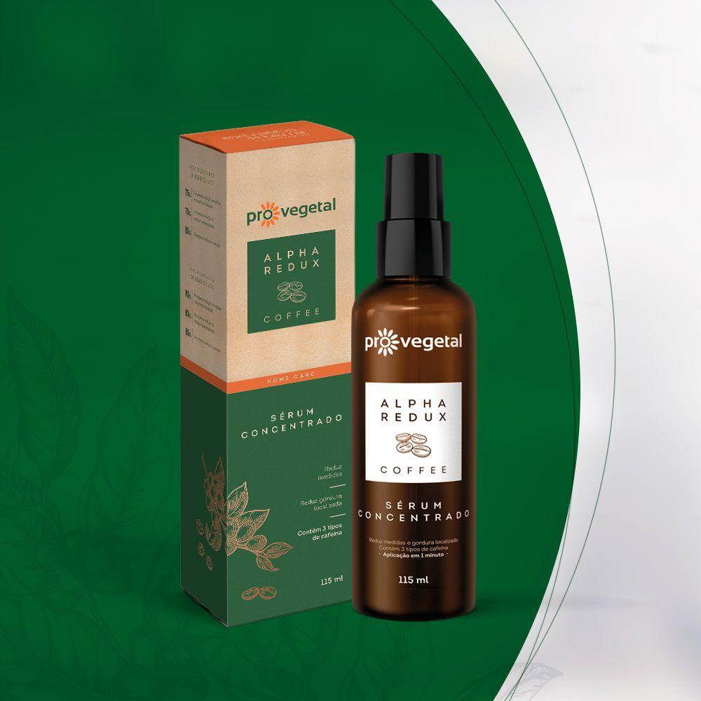 Pro Vegetal Alpha Redux Coffee Serum Concentrado 115 ml