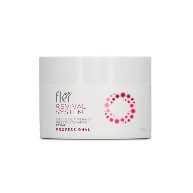 REVIVAL SYSTEM Creme de Massagem Facial Restruturante 250g Fler