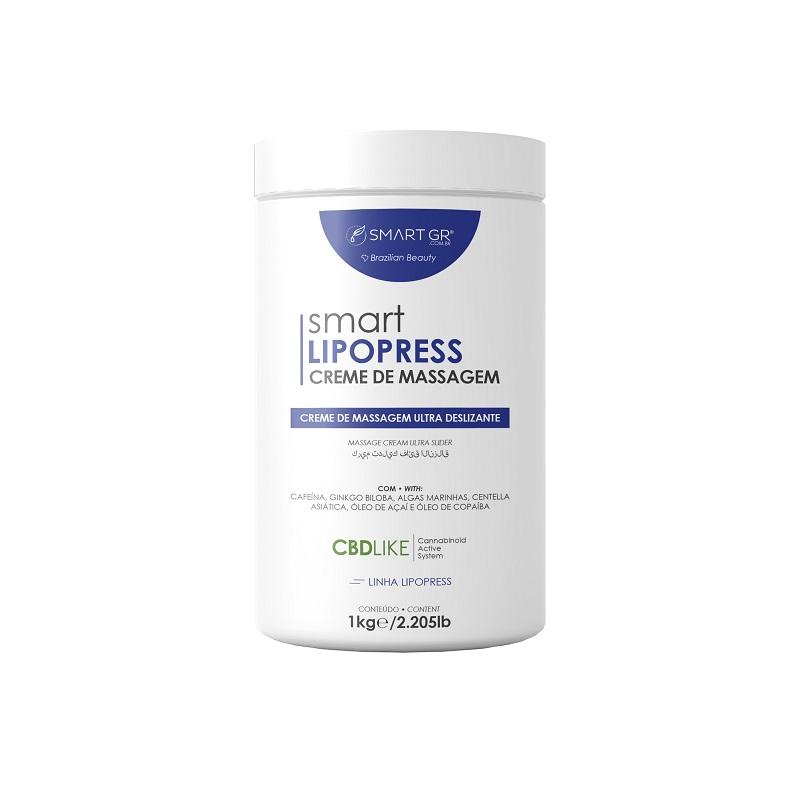 Smart Lipopress Creme de Massagem com CBDLIKE 1kg