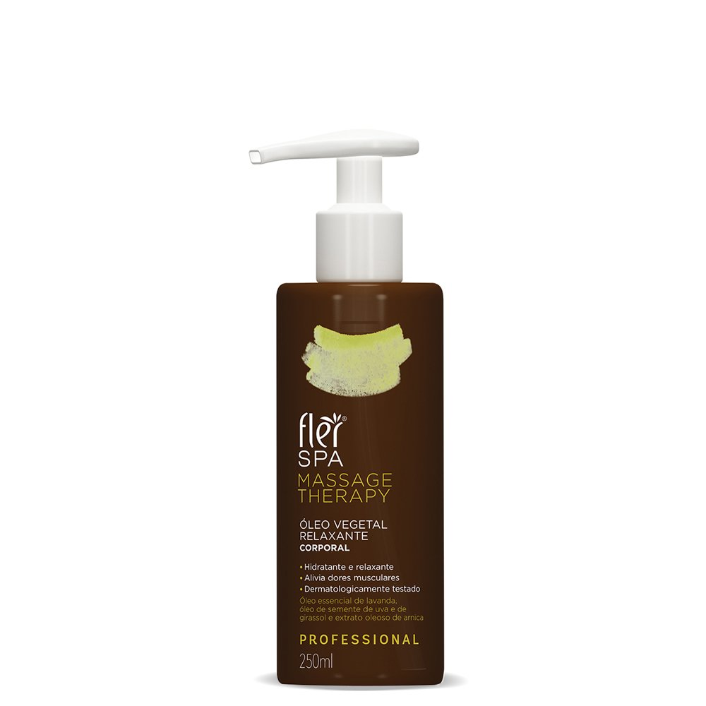 SPA MASSAGE THERAPY Oleo Vegetal Relaxante 250ml Fler