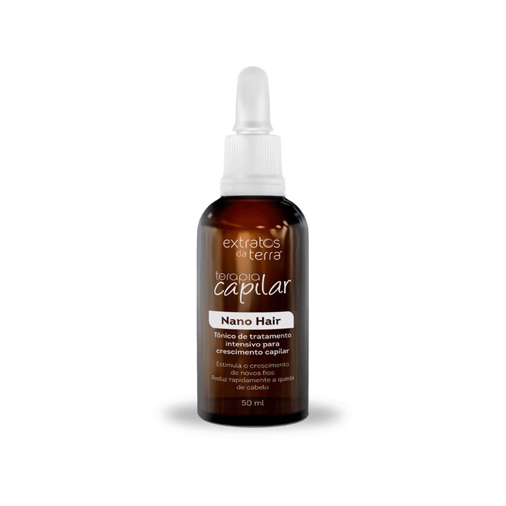 Terapia Capilar Tonico Nano Hair 50ml Extratos da Terra