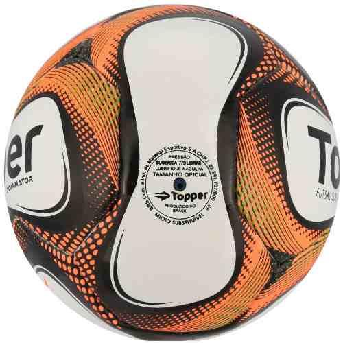 8898e22f74 Bola Futsal Topper Infantil Dominator Sub 13 - SPORT CENTER JARAGUÁ