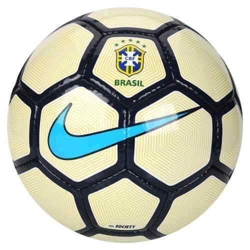 Bola Nike Society Brasil Cbf 2017 Costurada - SPORT CENTER JARAGUÁ 56cfc867427fa