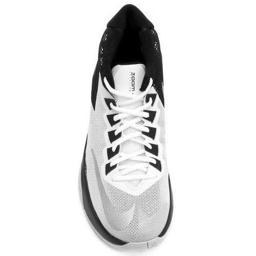 Tenis Basquete Nike Zoom Devosion Adulto Branco Preto - SPORT CENTER JARAGUÁ e61b6972004f8