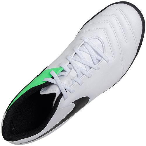Tenis Futsal Nike Tiempo X Rio 3 Adulto Branco - SPORT CENTER JARAGUÁ 7bfb65a7adcf4