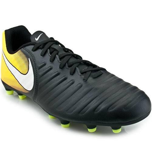 Chuteira Campo Nike Tiempo Rio 4 Adulto Preto - SPORT CENTER JARAGUÁ 821970543b4d1