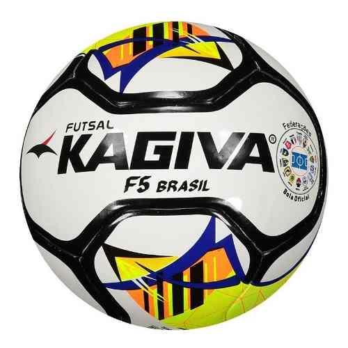 0b9bd1c4c6 Bola Futsal Kagiva F5 Brasil Pró Oficial - SPORT CENTER JARAGUÁ