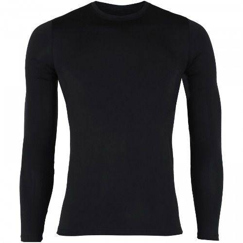 18a7ed73c Camisa Termica De Compressão Lance Adulta Manga Longa Preta - SPORT ...