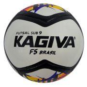5ddbf4301 Bola Futsal Kagiva F5 Brasil 100% PU Sub 9
