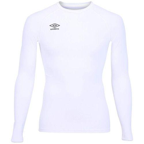 212e2f12c1eba Camisa Termica De Compressão Umbro Twr Manga Longa Branca - SPORT CENTER  JARAGUÁ