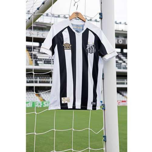 e8810dc51e ... Camisa Santos Oficial Umbro 2018/19 Listrada Original - Sport Center  Jaraguá