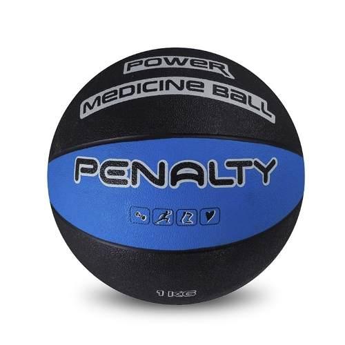 7fb2c147fc Bola Medicine Ball Penalty 1 Kg Borracha - SPORT CENTER JARAGUÁ