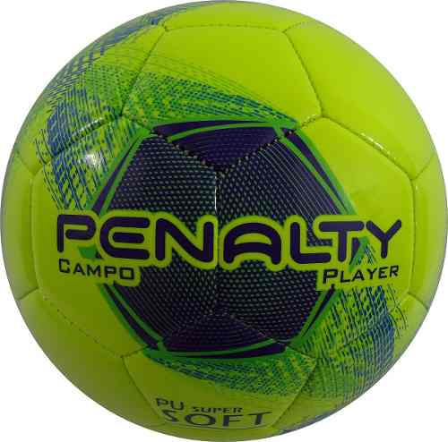 Bola Campo Penalty Player Collors Verde - SPORT CENTER JARAGUÁ c63c9bd03e621