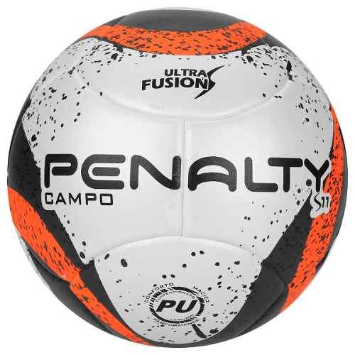 Bola Campo Penalty S11 R3 Pu Bco pto lar - SPORT CENTER JARAGUÁ fcbe8349653ab
