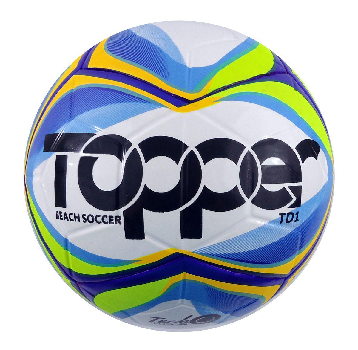 9abbf2221 Bola Futebol De Areia Topper Beach Soccer Pró Tecno Fusion - SPORT CENTER  JARAGUÁ