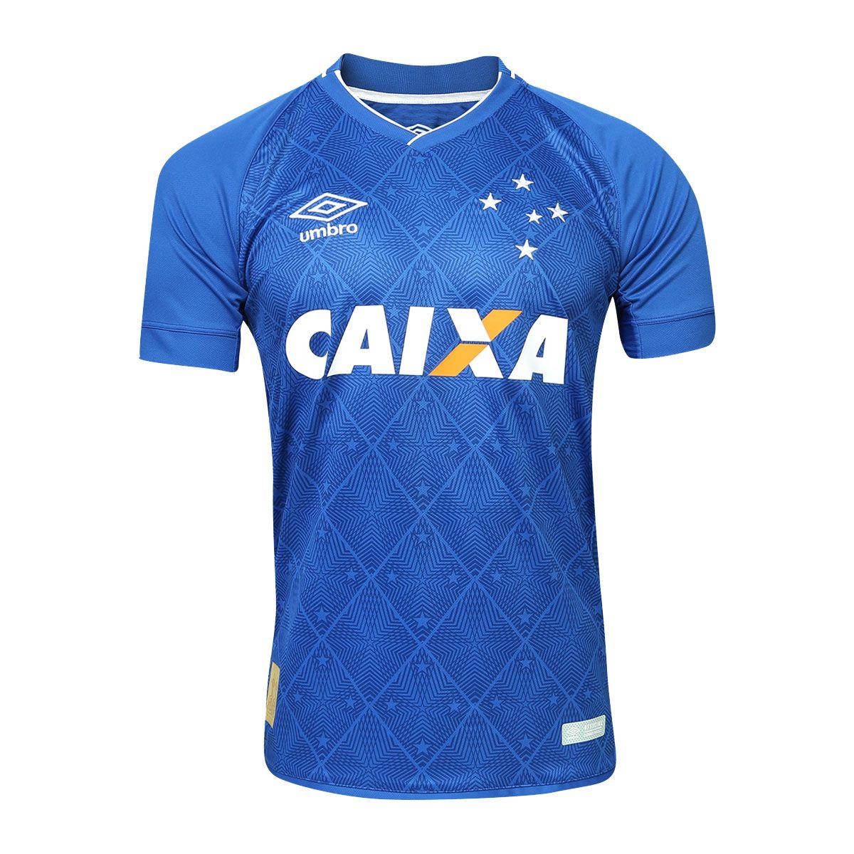 6343671304 Camisa Cruzeiro Umbro 2017 Azul Masculina - Sport Center Jaraguá ...