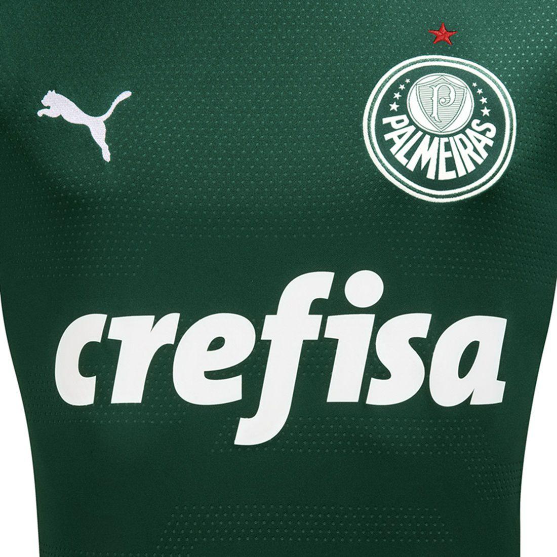 f5ec6df2ffe6a ... Camisa Palmeiras Puma Oficial 2019/20 Sem Numero Masculina - Sport  Center Jaraguá