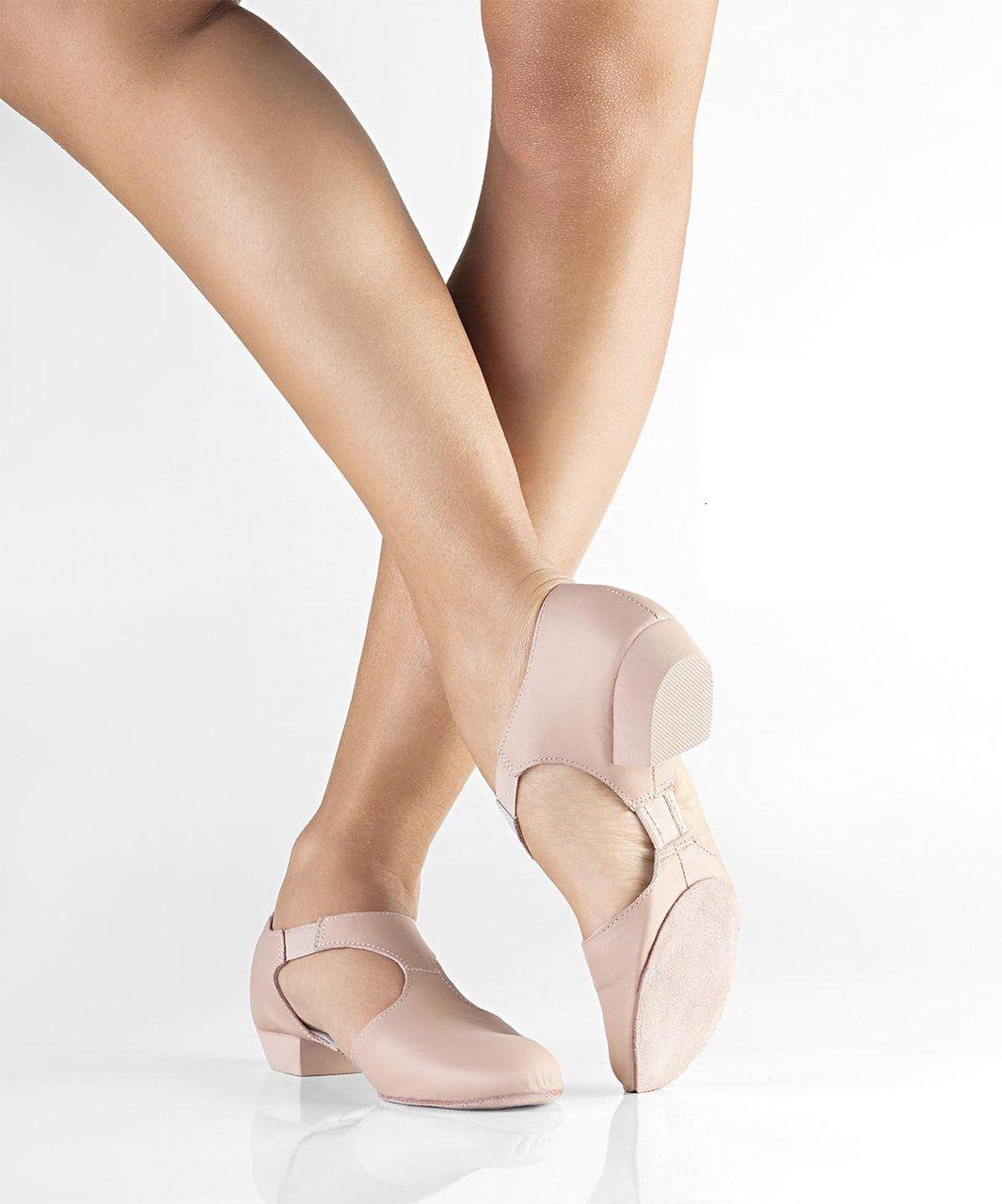 a17ffdad280cd Sandália Sapato Só Dança MD04 Couro Dança Moderna - Sport Center Jaraguá