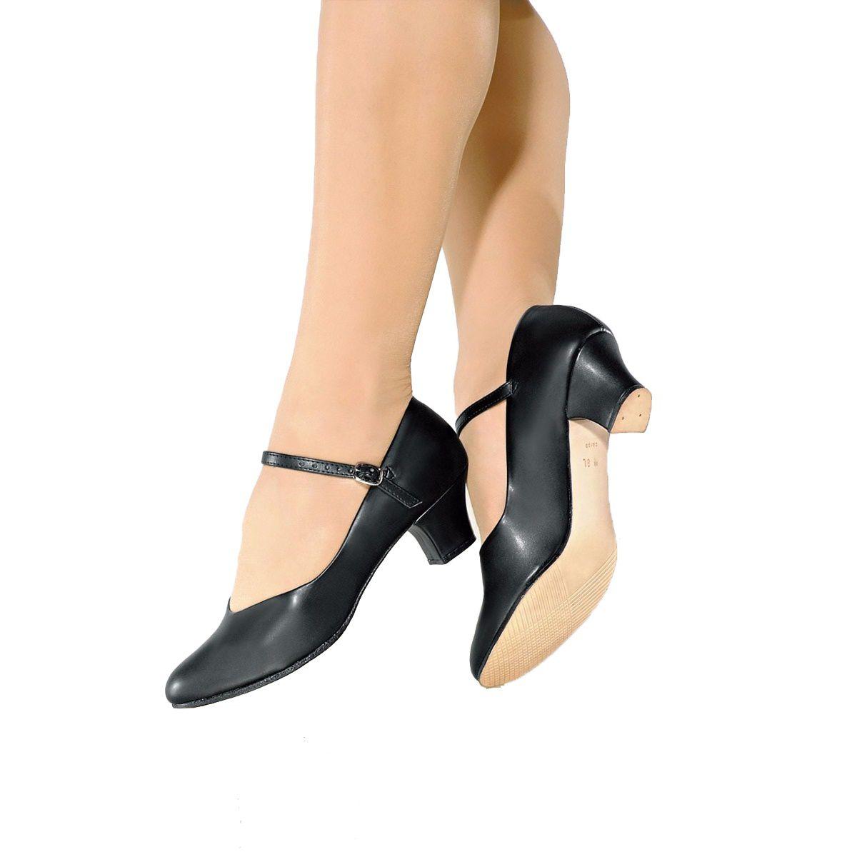 edeb5b3751 Sapato Dança De Salão Só Dança Napa Salto 5cm Preto - SPORT CENTER JARAGUÁ