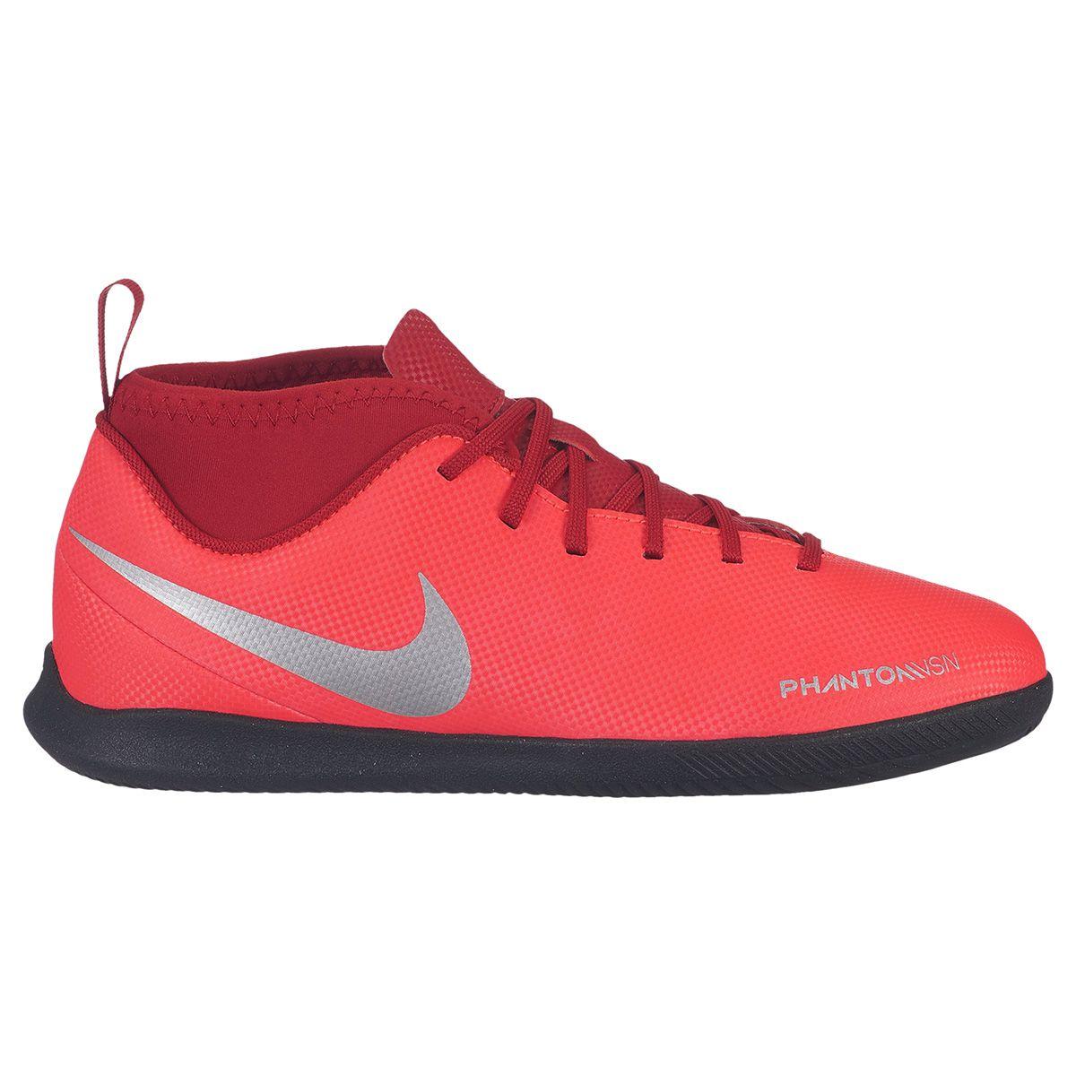 ce2fa9d37de3d Tenis Futsal Nike Phantom VSN Botinha Infantil - SPORT CENTER JARAGUÁ