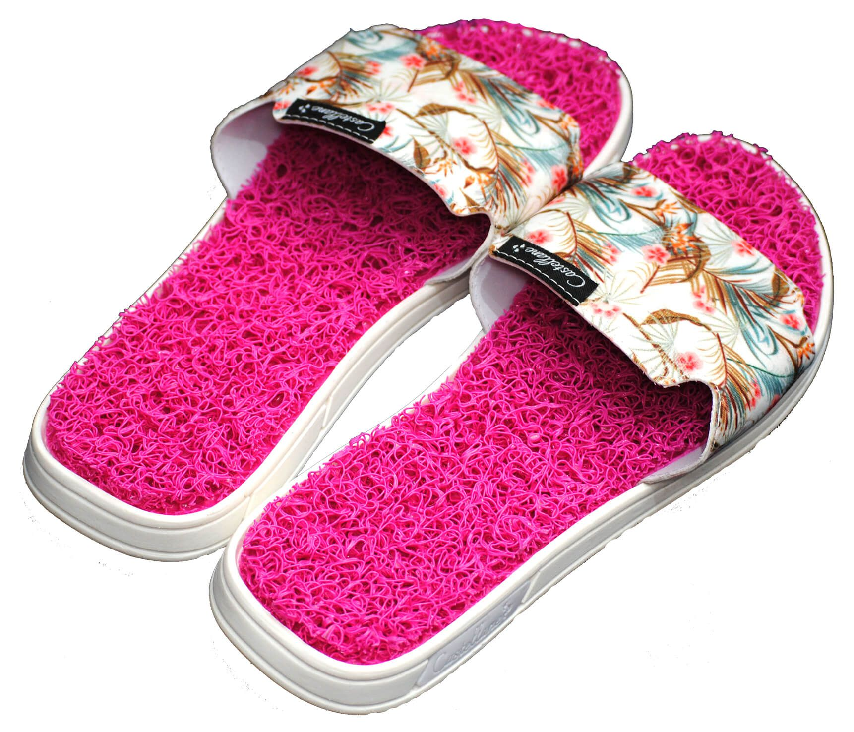 CHINELO CASTELLANE SLIDE PINK