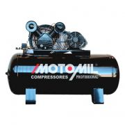 Compressor 25 Pés (pcm) Cmv25/200l 140lbs 220/380v Motomil
