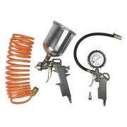 Kit Acessórios para motocompressor Lynus Mac-4 peças