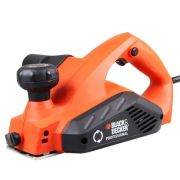 "Plaina Elétrica 3-1/4"" (82mm) Black & Decker 650W 220V"